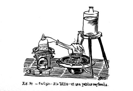 Fig. 34.- fastigio- dijo Talita - es una palabra muy bonita.